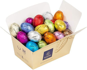 GLUTEN FREE Mini Easter Eggs in Ballotin Box by weight - www.chocolateorders.com