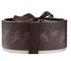 Luxury Cherry Liquor Chocolate Round Box - www.chocolateorders.com