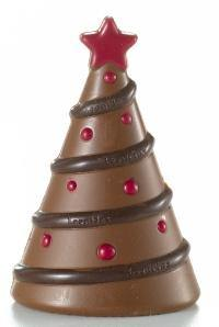 Christmas Tree Chocolate Figure 100g. - www.chocolateorders.com