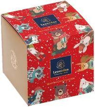 Load image into Gallery viewer, Christmas Cube Box - Orangette/Mendiant/Almond - www.chocolateorders.com