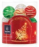Christmas Chocolate Balls in Cylinder - 3 size available - www.chocolateorders.com - Leonidas Brighton