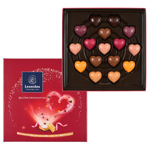 Load image into Gallery viewer, Valentine's Gift Box with Heart Chocolates - www.chocolateorders.com