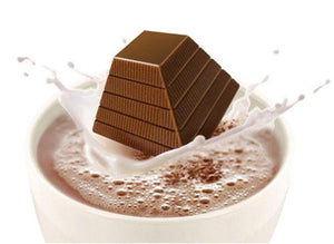 Leonidas Hot Chocolate - 4 Pyramids in Cello Bag - www.chocolateorders.com