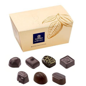 DARK Chocolates Ballotin Box by weight - www.chocolateorders.com