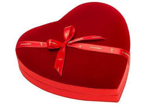 Leonidas Velvet Heart Large Box - www.chocolateorders.com