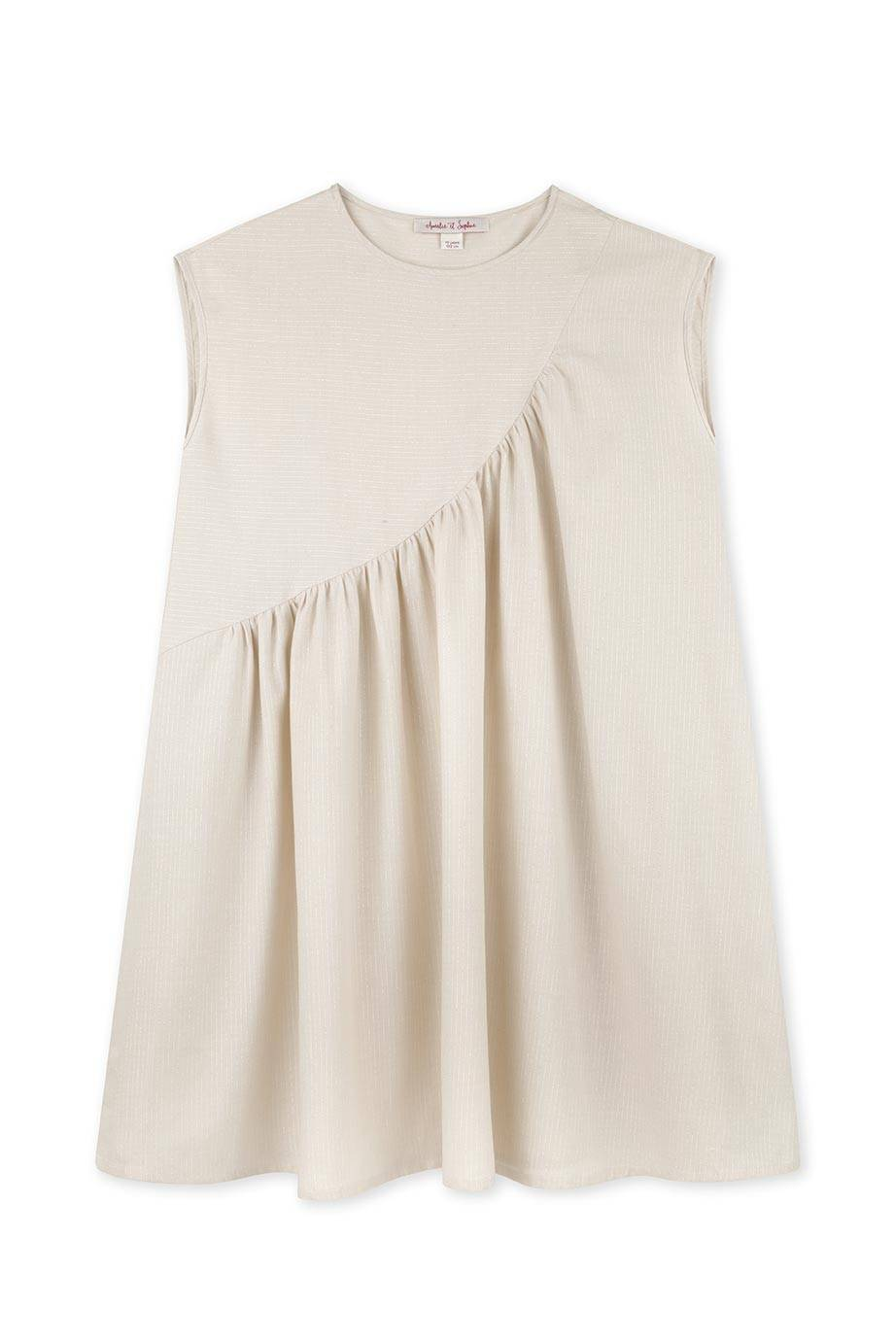 Aicha Gold Dress,Dress - Amelie et Sophie
