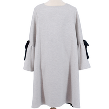 Load image into Gallery viewer, Grey Elsa Dress,Dress - Amelie et Sophie
