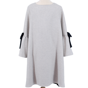 Grey Elsa Dress,Dress - Amelie et Sophie