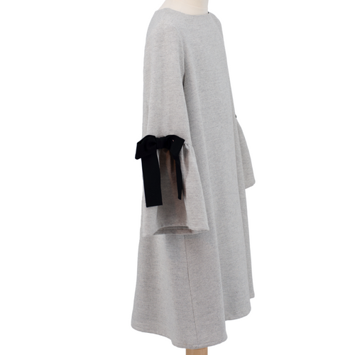Grey Elsa Dress - Amelie et Sophie