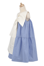 Load image into Gallery viewer, Cerisier Blue Dress - Amelie et Sophie