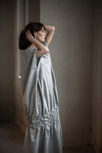 Load image into Gallery viewer, Grey Cotton Dress,Dress - Amelie et Sophie
