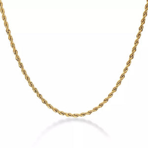 gold rigged necklace