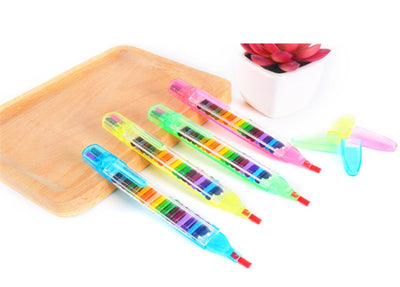 Non-Toxic Wax Crayon Oil Paint Pen