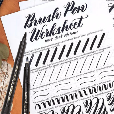 Calligraphy Hand Lettering Pens