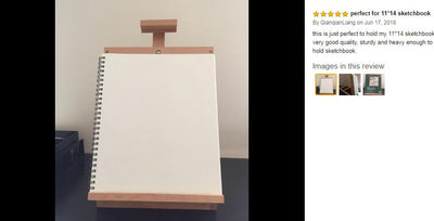 Adjustable Tabletop Wooden Easel