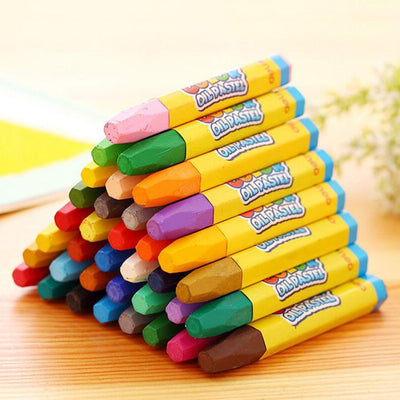 12 Colors Caryon Pencils Wax
