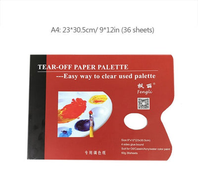 A4/8K Disposable Tear Off Paper