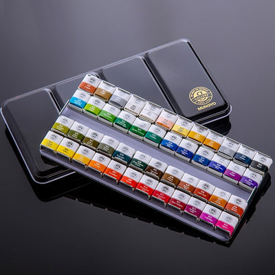 12/24/48 Colors Watercolor Paint Set