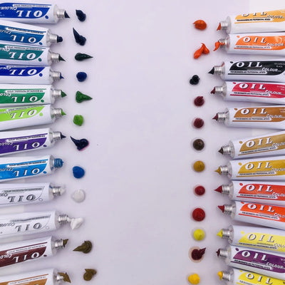 24pcs Professional Tube Oil Paints