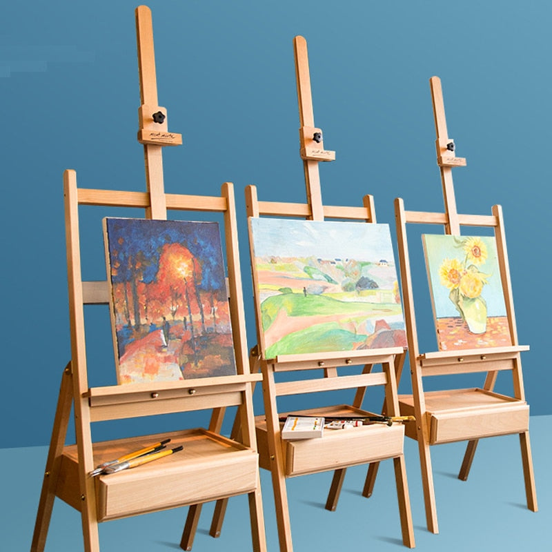 Adjustable Beech Easel