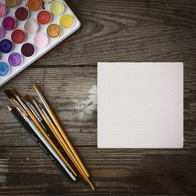 White Blank Mini Stretched Artist Canvas