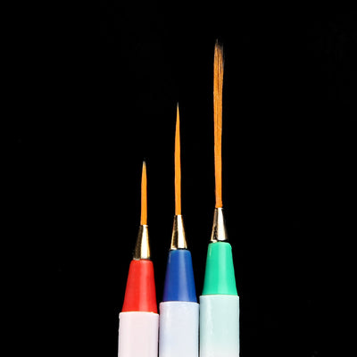 3PCS Paint Brush Wood