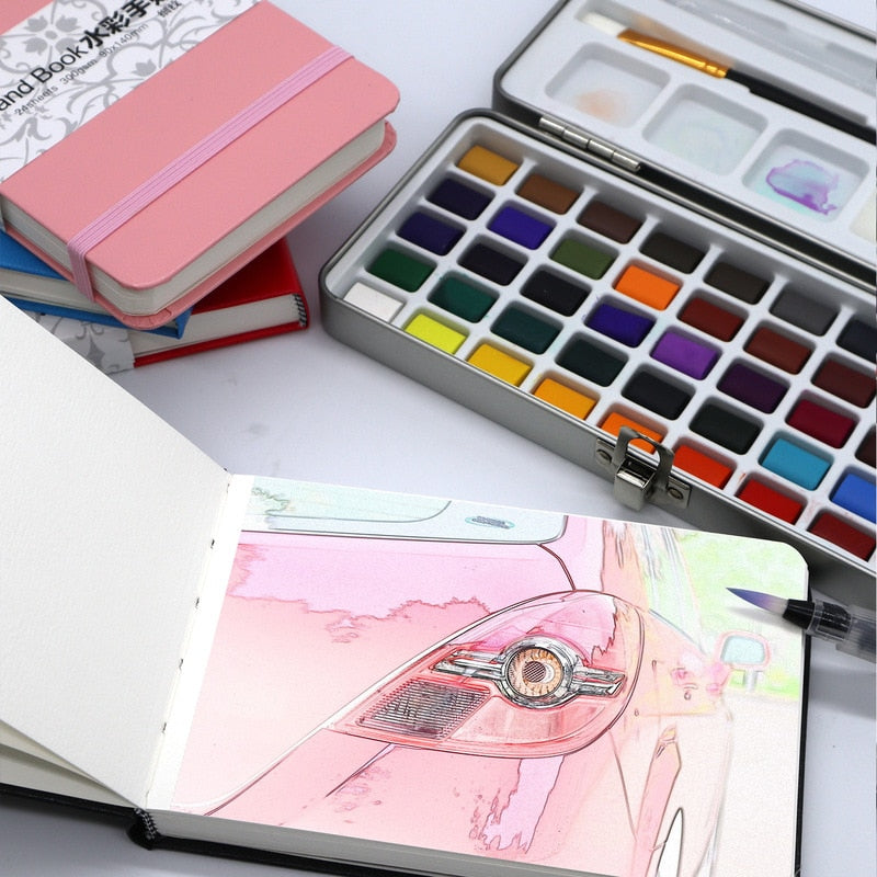 24 Sheets Watercolor Book Pad