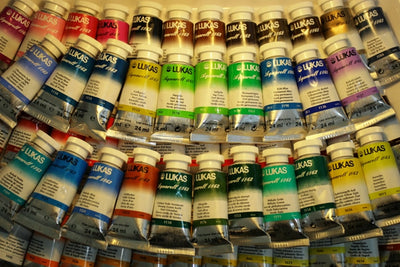 Artist Paste Tube Watercolor Pigment