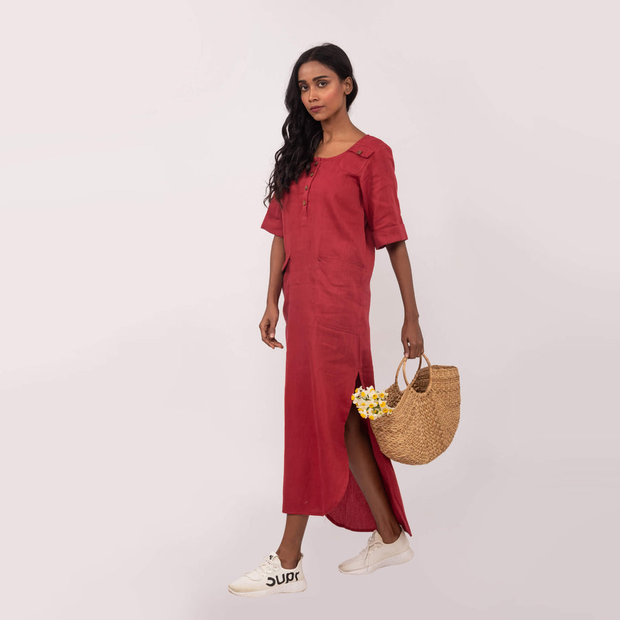 The Laidback Shirt Dress - NOMH