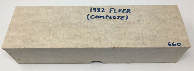 1982 Fleer Baseball Complete Set -660