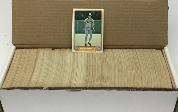 1982 Fleer Baseball Complete Set Ripken RC