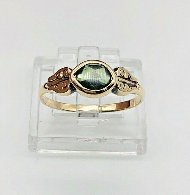 10K Yellow Gold Fashion Ladies Ring
