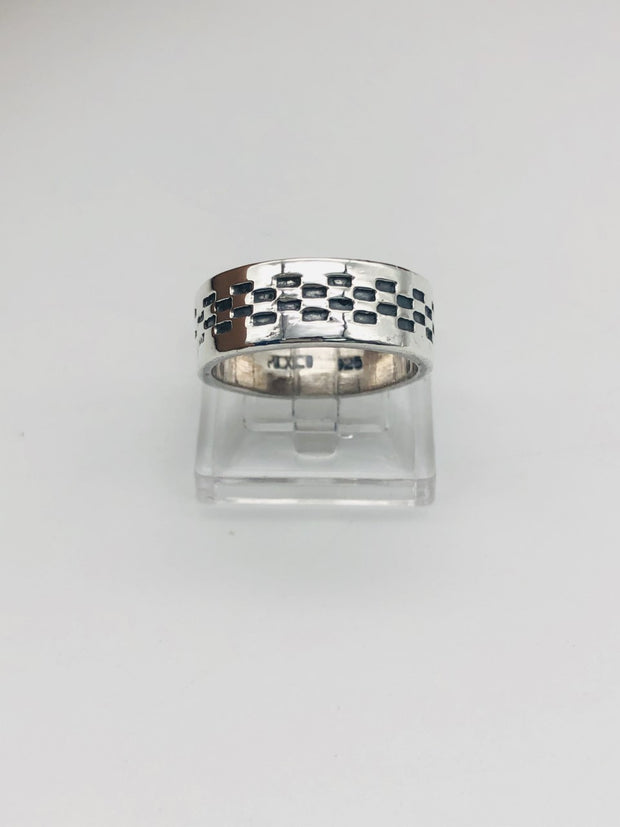 .925  Sterling Silver Band Ring