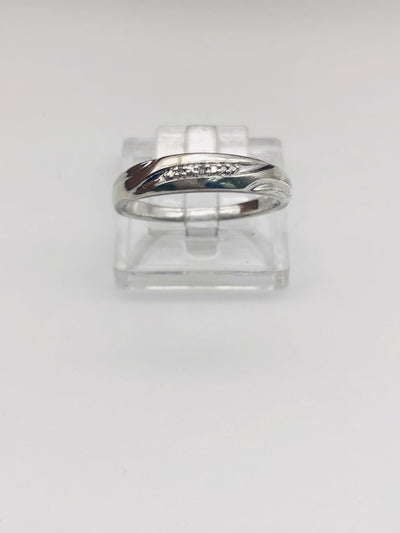 .925  Sterling Silver Wedding Band Ring