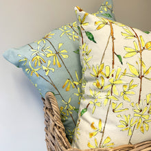 Load image into Gallery viewer, Country Grey Forsythia Cushion