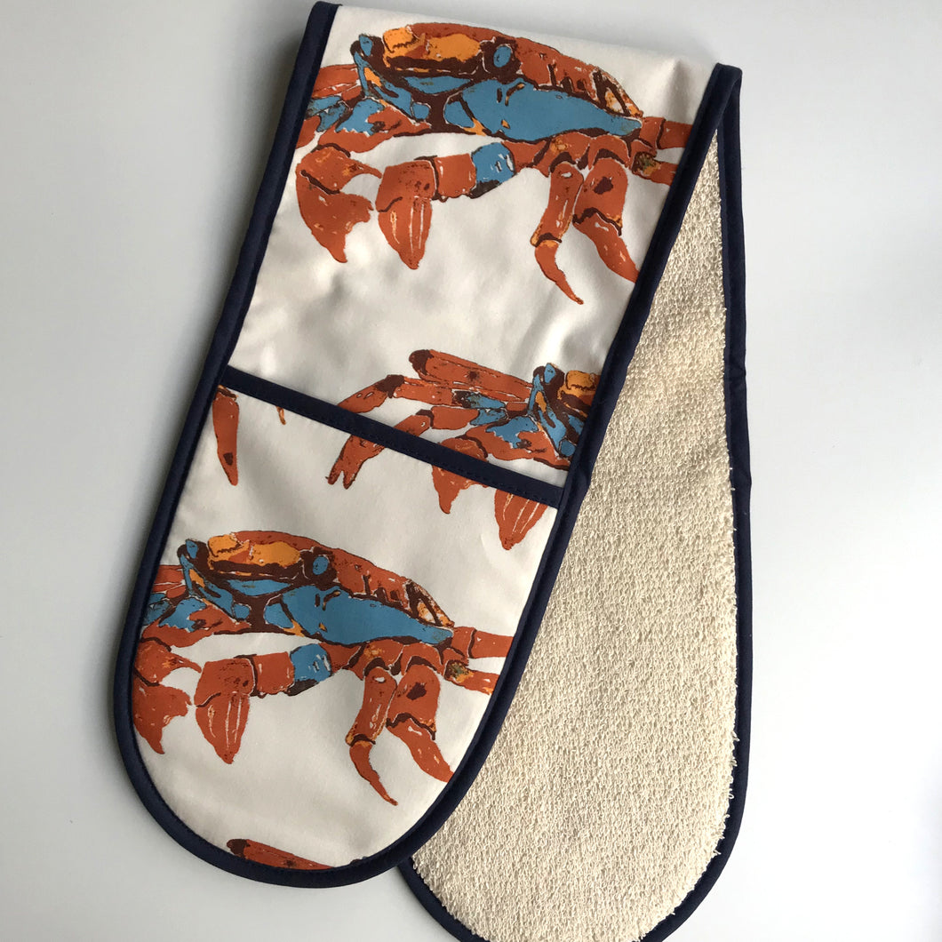 Crab Double Oven Glove
