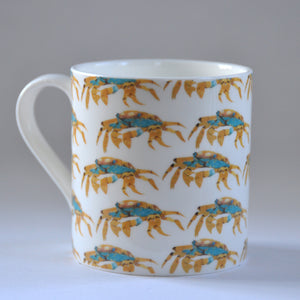 Crab Bone China Mug