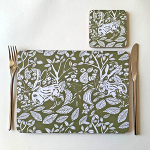 Field Hare Placemat