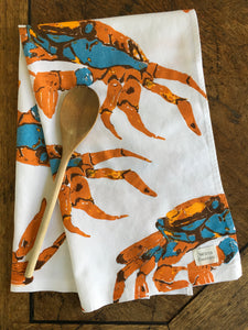 Crab Tea Towel