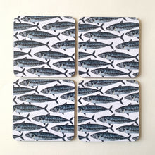 Load image into Gallery viewer, Mackerel Coasters