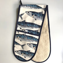 Load image into Gallery viewer, Mackerel Double Oven Glove
