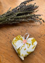 Load image into Gallery viewer, Lime Green Lavender Bag
