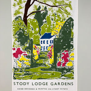 Stody Lodge House Tea Towel