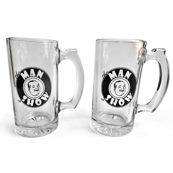 Man Show Beer Mugs (2 set)