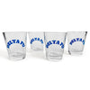 Delta Fu Shot Glasses ( 4 set)