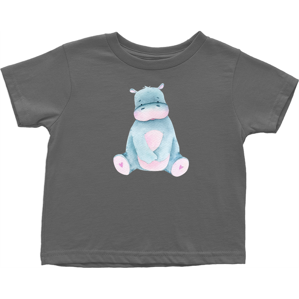 Adorable baby animals -T-Shirts (Toddler Sizes) - Hippopotomus