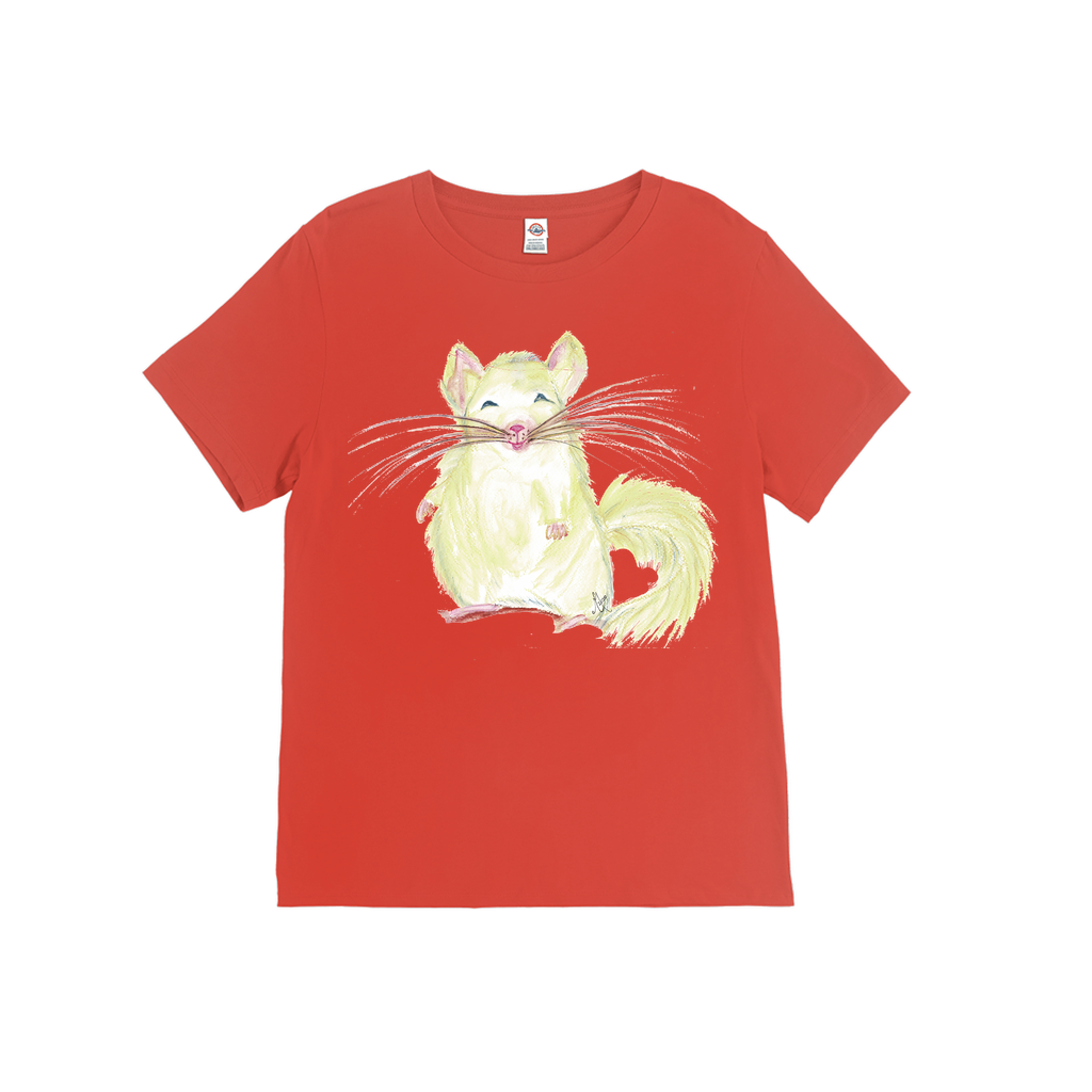 The Only Way to Wear Chinchilla -  Athletic All Gender Adult T-Shirt