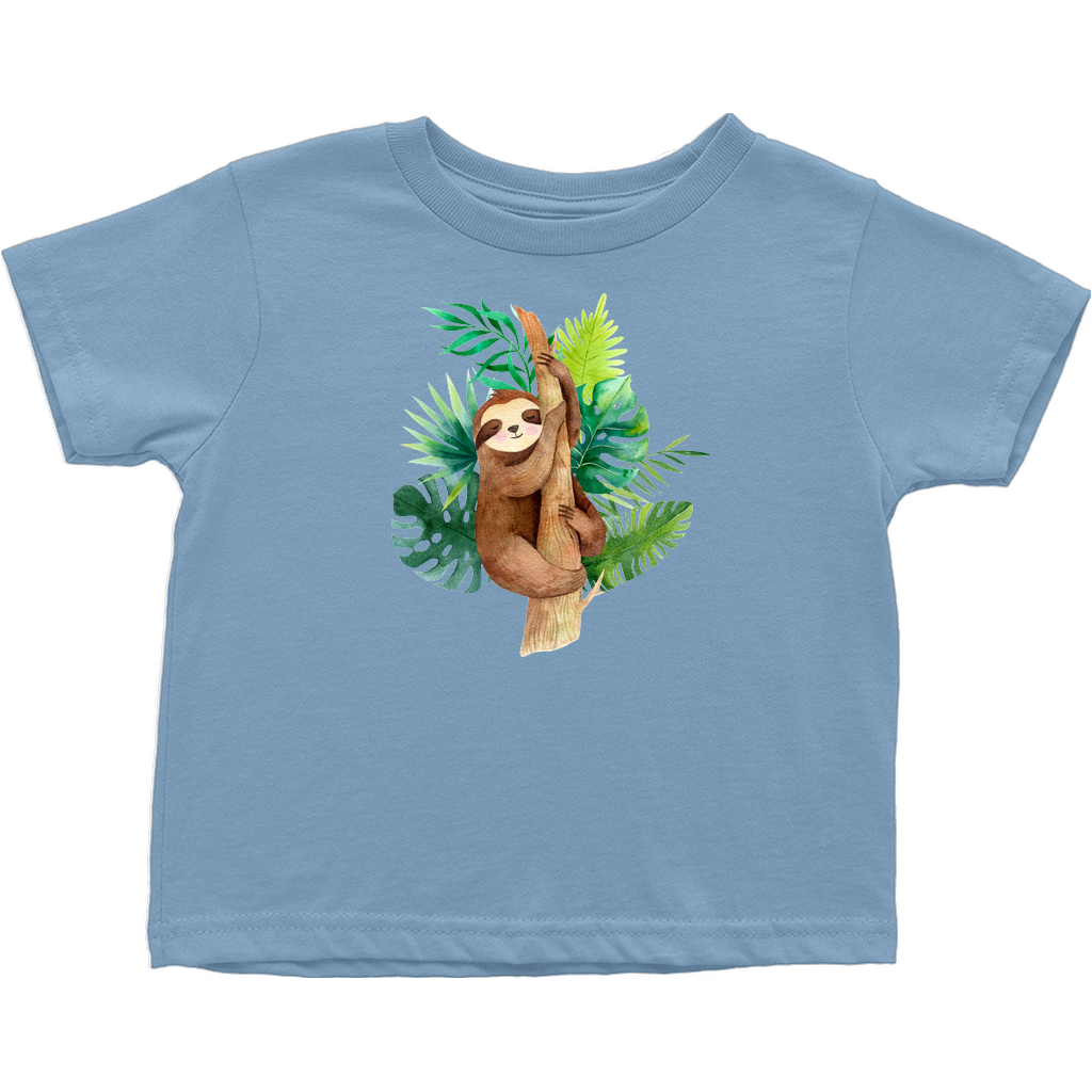 Adorable baby animals - T-Shirts (Toddler Sizes) - Tree Sloth