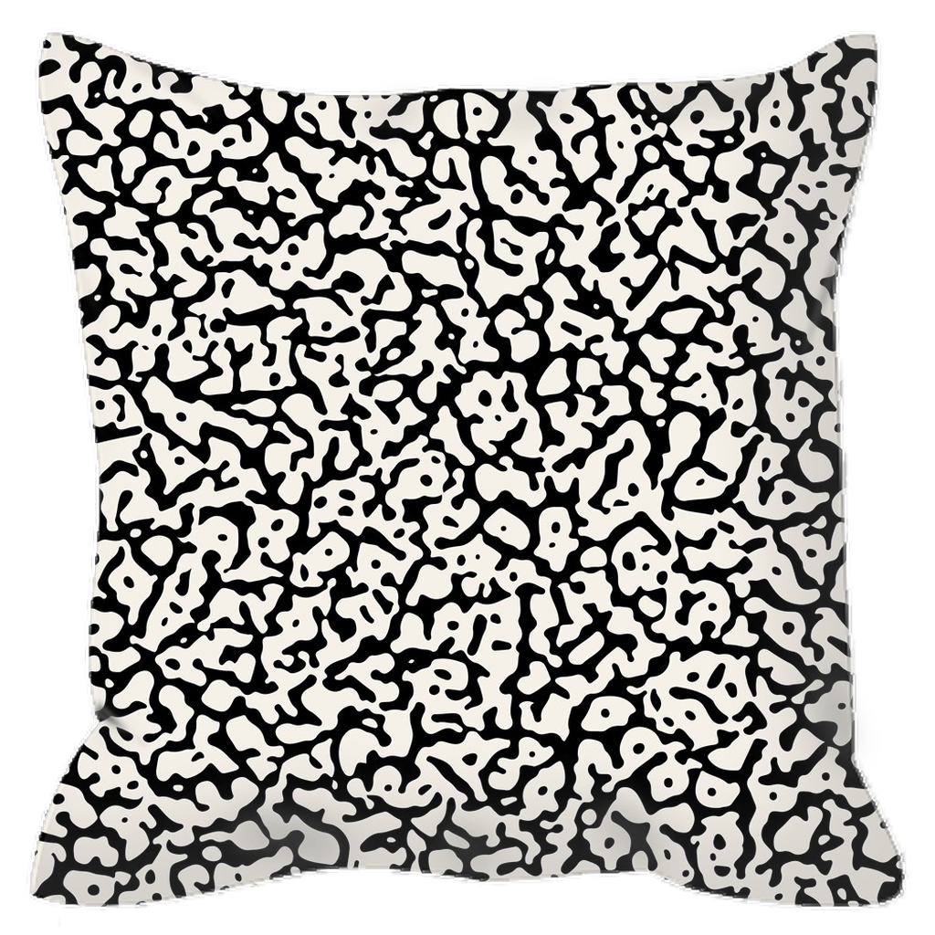 Outdoor Pillows - Abstract Dark and Light III