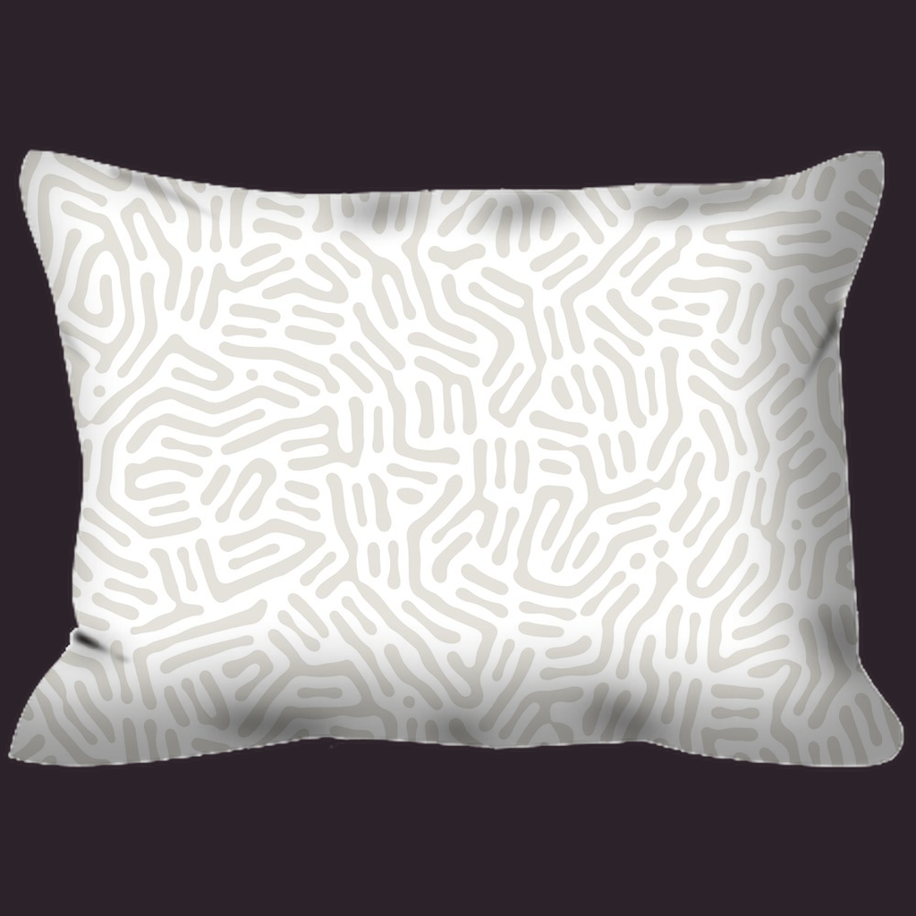 Outdoor Pillows - Abstract Plant Neutral 1